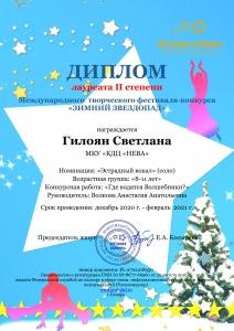Фестиваль-конкурс Зимний звездопад