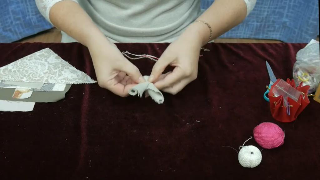 """Мастер класс по изготовлению куклы """"Подорожницы"""" (рук.Мадорская В.Ю.)"""
